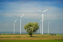 Wind turbine. Stock Photography