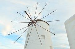 Wind turbine generating electricity Royalty Free Stock Photos