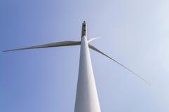 Wind turbine generating electricity renewable energy Stock Image