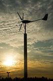 Wind turbine generator Stock Images