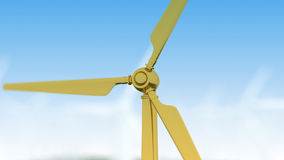 Wind turbine generator Royalty Free Stock Image