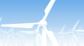 Wind turbine generator Royalty Free Stock Photo