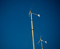 Wind turbine generator Royalty Free Stock Images
