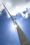 Wind turbine generator Stock Photos