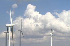 Wind turbine generator Stock Photography