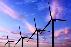 Wind turbine generator Royalty Free Stock Photo