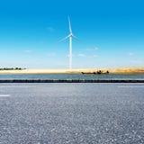 Wind turbine generator Stock Images