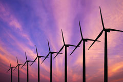 Wind turbine generator Royalty Free Stock Photos