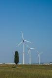 Wind Turbine. Industrial wind turbine in Tuscany Stock Photos