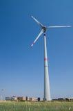 Wind Turbine. Industrial wind turbine in Tuscany Royalty Free Stock Photos