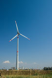 Wind Turbine. Industrial wind turbine in Tuscany Stock Photography