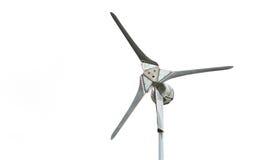 Wind turbine isolated Royalty Free Stock Photos