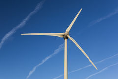 Wind turbine in the Loire Valley Stock Images