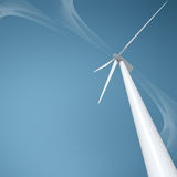 Wind Turbine stock illustration