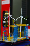 Wind turbine model Stock Photography