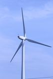 Wind turbine. Modern sleek beauty of the environmentally sound source of power Stock Photo