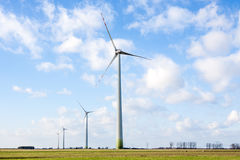 Wind turbine. In the open Royalty Free Stock Photography
