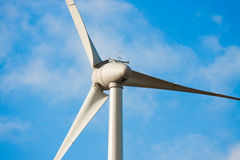 Wind turbine. In the open Stock Photo