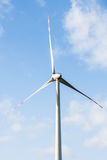 Wind turbine. In the open Royalty Free Stock Photos