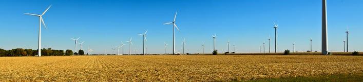 Wind Turbine Panoramic Royalty Free Stock Photos