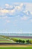 Wind turbine park Royalty Free Stock Photos
