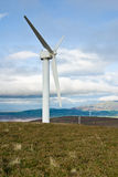 Wind turbine (portrait) Stock Photos