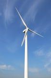 Wind turbine in portrait aspect Stock Images