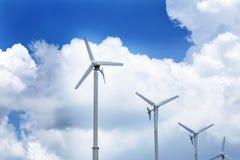 Wind Turbine Power Generation Stock Photos