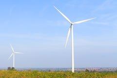 Wind turbine power generator Royalty Free Stock Photography
