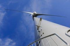 Wind turbine power generator royalty free stock image