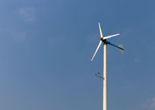 Wind turbine power generator Stock Photography