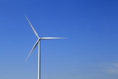 Wind turbine producing alternative energy Royalty Free Stock Photography