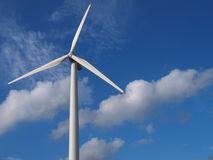 wind turbine for producing electric Royalty Free Stock Photos