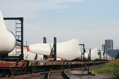 Wind turbine propeller parts  Stock Images