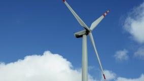Wind turbine renewable energy generation stock footage