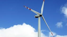 Wind turbine renewable energy generation Royalty Free Stock Image