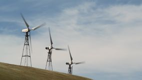 Wind Turbine. Renewable Energy, Sustainable Development, Environment Friendly. Concept stock video