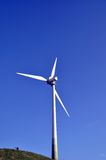 Wind turbine - the right way Royalty Free Stock Photography