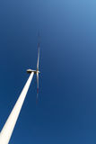 A wind turbine rotate Royalty Free Stock Image