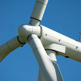 Wind turbine rotor Stock Photos