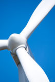 Wind turbine rotor Royalty Free Stock Photography