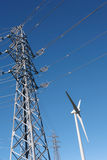 Wind turbine - Stock image royalty free stock photos