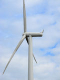 Wind turbine on the thames Royalty Free Stock Photo