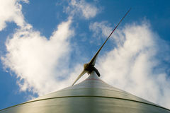 Wind turbine, the type of bottom Royalty Free Stock Photography