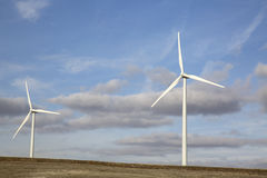 Wind Turbine, Valladolid Stock Photography