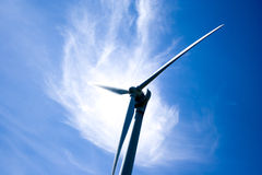 Wind-Turbine von Toronto Hydro Corporation Lizenzfreie Stockbilder