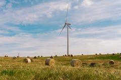A Wind Turbine on a Wind Farm.  Stock Photography