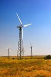 Wind turbine on a Wind Farm. In Crimea Stock Photos