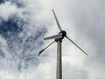 Wind turbine, wind generator, wind power unit to change wind ene Stock Image