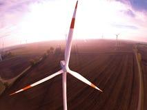 Wind turbine wind turbines wind energy wind power. Wind turbine wind turbines wind energy Stock Images